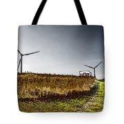 Wind Driven Tote Bag