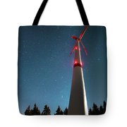 Wind Energy Plant Tote Bag