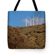 Wind Generators-signed-#0368 Tote Bag