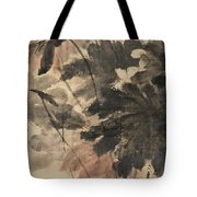 Wind In The Lotus Tote Bag