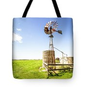 Wind Powered Farming Station Tote Bag