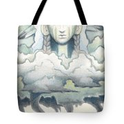 Wind Spirit Dances Tote Bag