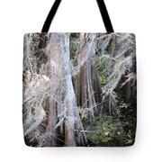 Wind Through The Cypress Trees Tote Bag