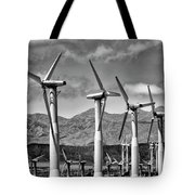 Wind Turbines Palm Springs Tote Bag