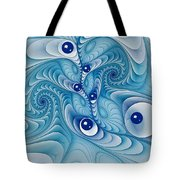 Wind Up Marble Works  Tote Bag