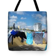 Wind Worn Rooftop Tote Bag