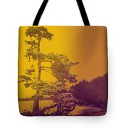 Windblown At Twilight Tote Bag