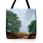 Windblown Clouds Tote Bag
