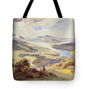 Windermere From Ormot Head Tote Bag