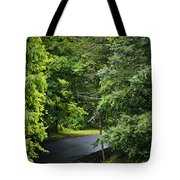 Winding Road Bluestone State Park West Virginia Tote Bag