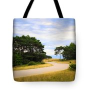 Winding Road Into The Unknown Tote Bag