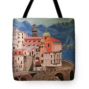 Winding Roads Of Italy Tote Bag