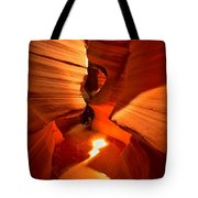 Winding Through Antelope Canyon Tote Bag