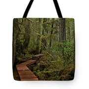 Winding Through The Willowbrae Rainforest Tote Bag