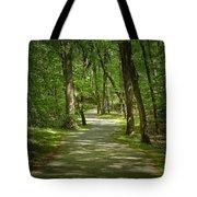 Winding Trails At Bur Mil Park  Tote Bag
