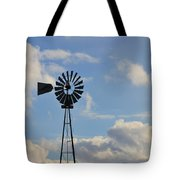 Windmill And Sky Tote Bag