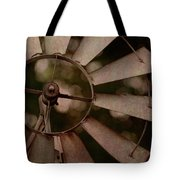 Windmill At Dusk Tote Bag