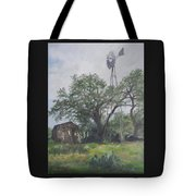 Windmill At Genhaven Tote Bag