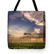 Windmill Farm Tote Bag
