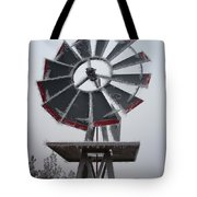 Windmill Frost Tote Bag