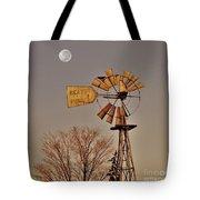 Windmill Fullmoon Tote Bag