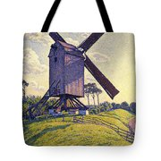 Windmill In Flanders Tote Bag