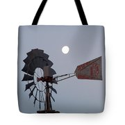 Windmill Moon Tote Bag