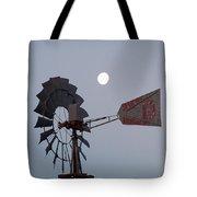 Windmill Moon Tote Bag
