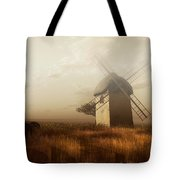 Windmill On A Slightly Misty Day Tote Bag