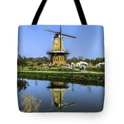 Windmill Reflection Tote Bag