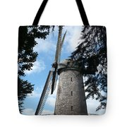 Windmill Through The Trees Tote Bag