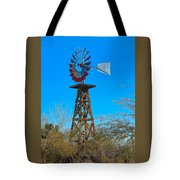 Windmill Tower Tote Bag