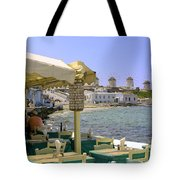 Windmill View Tote Bag