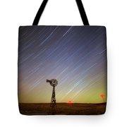 Windmills And Stars Tote Bag