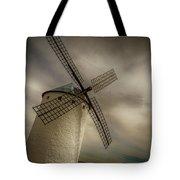 Windmills At Campo De Criptana Tote Bag