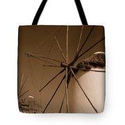 Windmills In Sepia Tote Bag