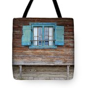 Window And Bench Tote Bag