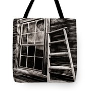Window And Ladder Tote Bag