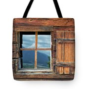 Window And Reflection Tote Bag