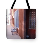Window Bench Seat Color Neutral Tote Bag