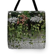 Window Box Flowers Tote Bag