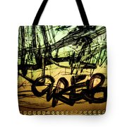 Window Drawing 04 Tote Bag