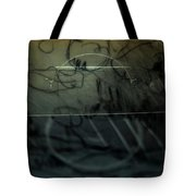 Window Drawing 08 Tote Bag by Grebo Gray