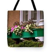 Window Flower Box Tote Bag