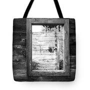 Window Frame Tote Bag