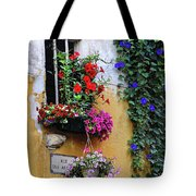 Window Garden In Arles France Tote Bag