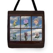 Window Garden Tote Bag
