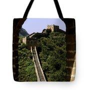Window Great Wall Tote Bag