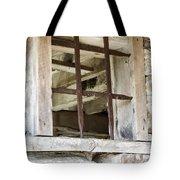 Window In The Amana Farmer's Market Barn Amana Ia Tote Bag