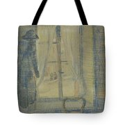 Window In The Bataille Restaurant Paris, February - March 1887 Vincent Van Gogh 1853 - 1890 Tote Bag